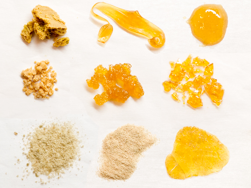Cannabis concentrates come in many forms with differing effects and potency
