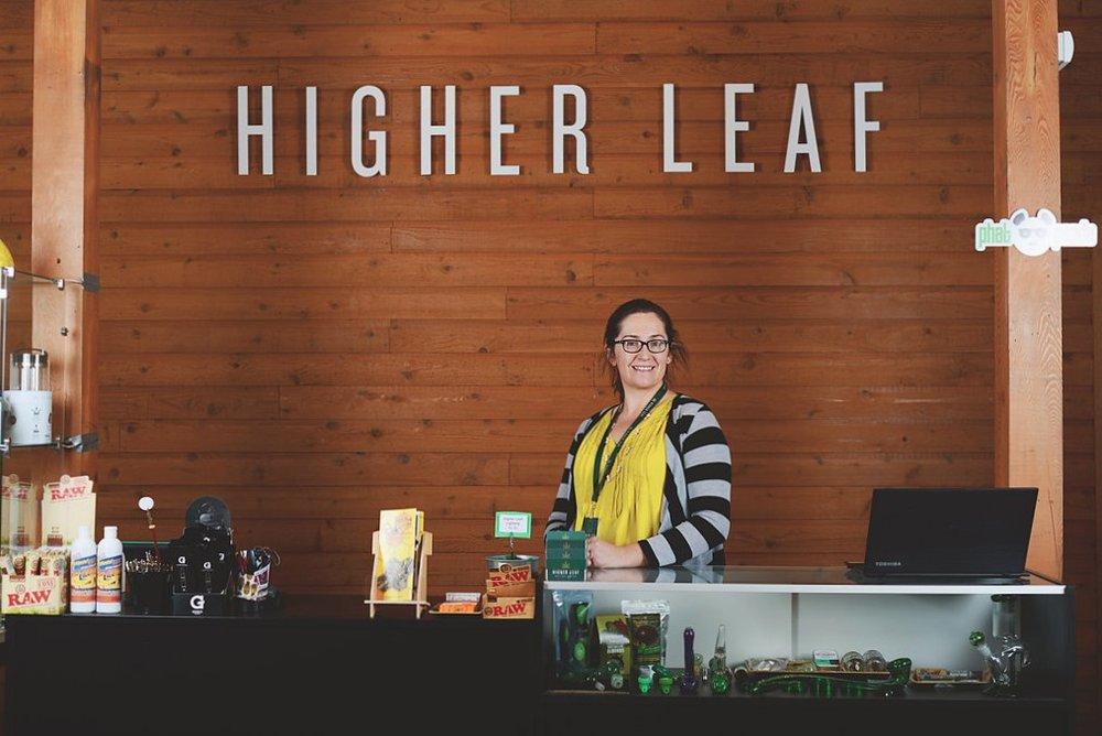 Molly Honig at Higher Leaf