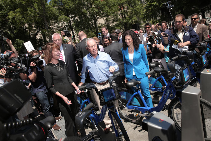 Out For a Spin: New York City's Bike Share Program Begins    New York Times