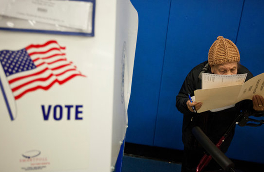 Displaced by Hurricane, but Returning Home, Briefly, to Vote    New York Times