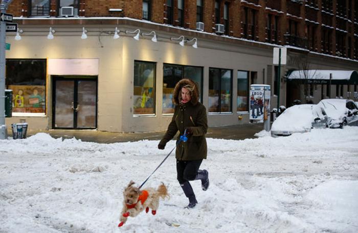 New York Winter Storm Updates    New York Times