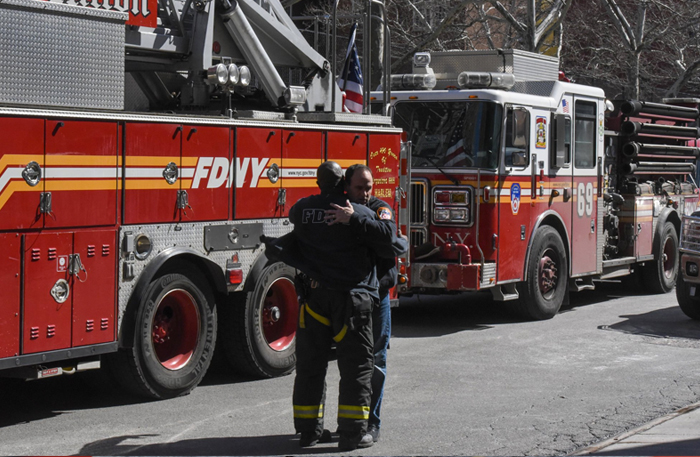 Firefighter Killed in Harlem Blaze Supported Others With Vigor   New York Times