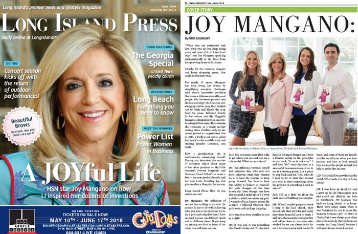 Cover Story: A JOYful Life   Long Island Press