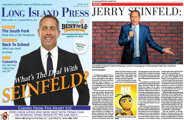 Cover Story: What's the Deal with Seinfeld?   Long Island Press