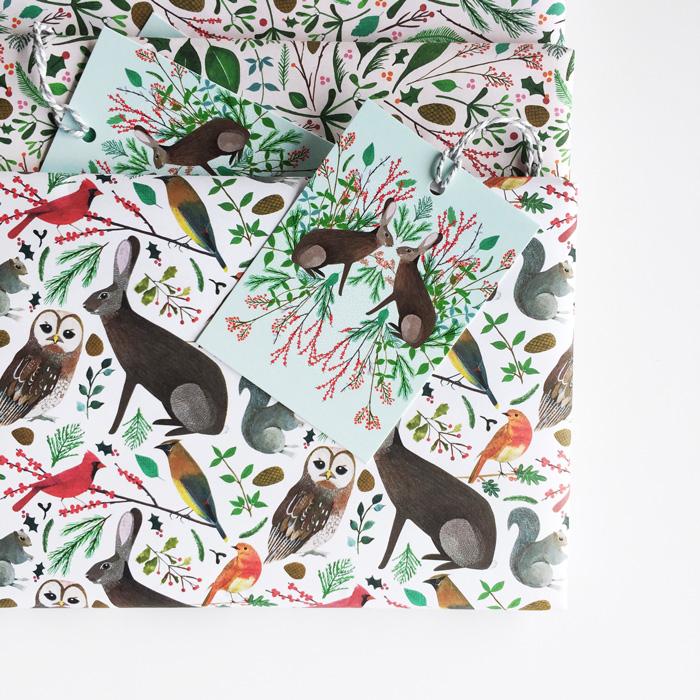 Gift wrap designed by Zoë Ingram