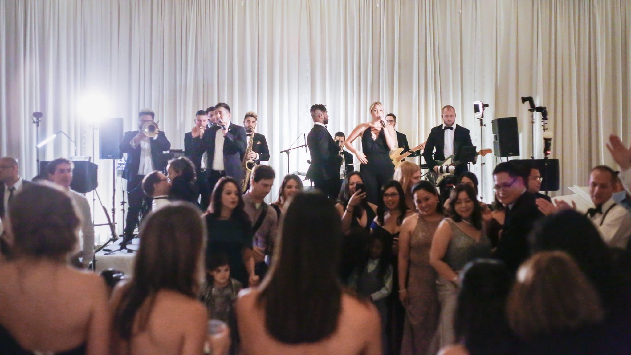 Gold Standard Ritz-Carlton, Laguna Niguel Wedding Band