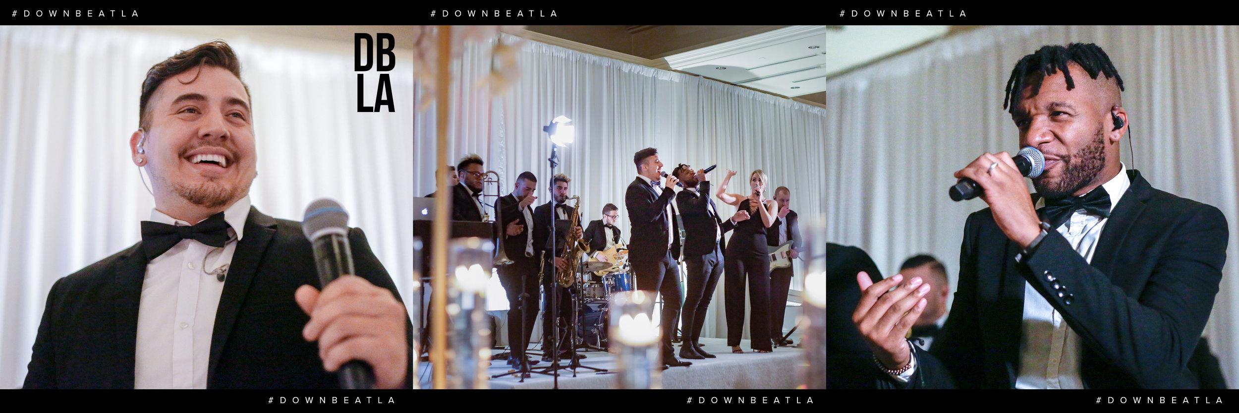 Gold Standard Downbeat LA Ritz-Carlton, Laguna Niguel Wedding Band