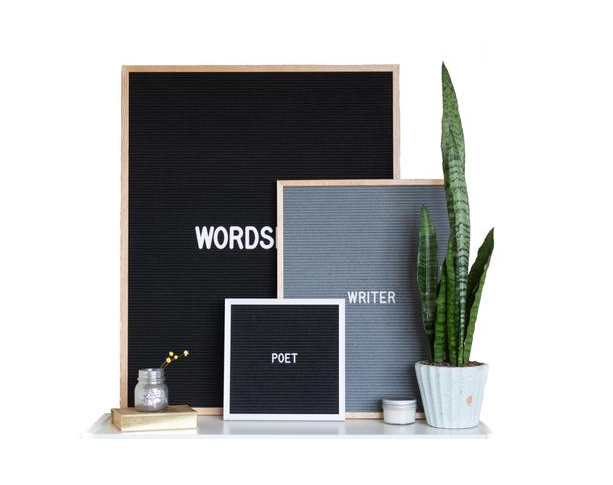 Letter Board - use promo code LARA20 for 20% off