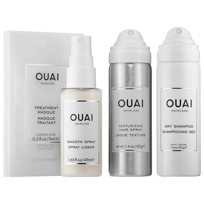 OUAI hair care set -