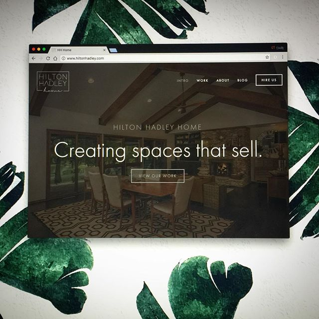 And we're live! Be sure to check out the new website to see our most recent projects and services available. (Link in bio) #hiltonhadleyhome #spacesthatsell #staging #homestyling #organization