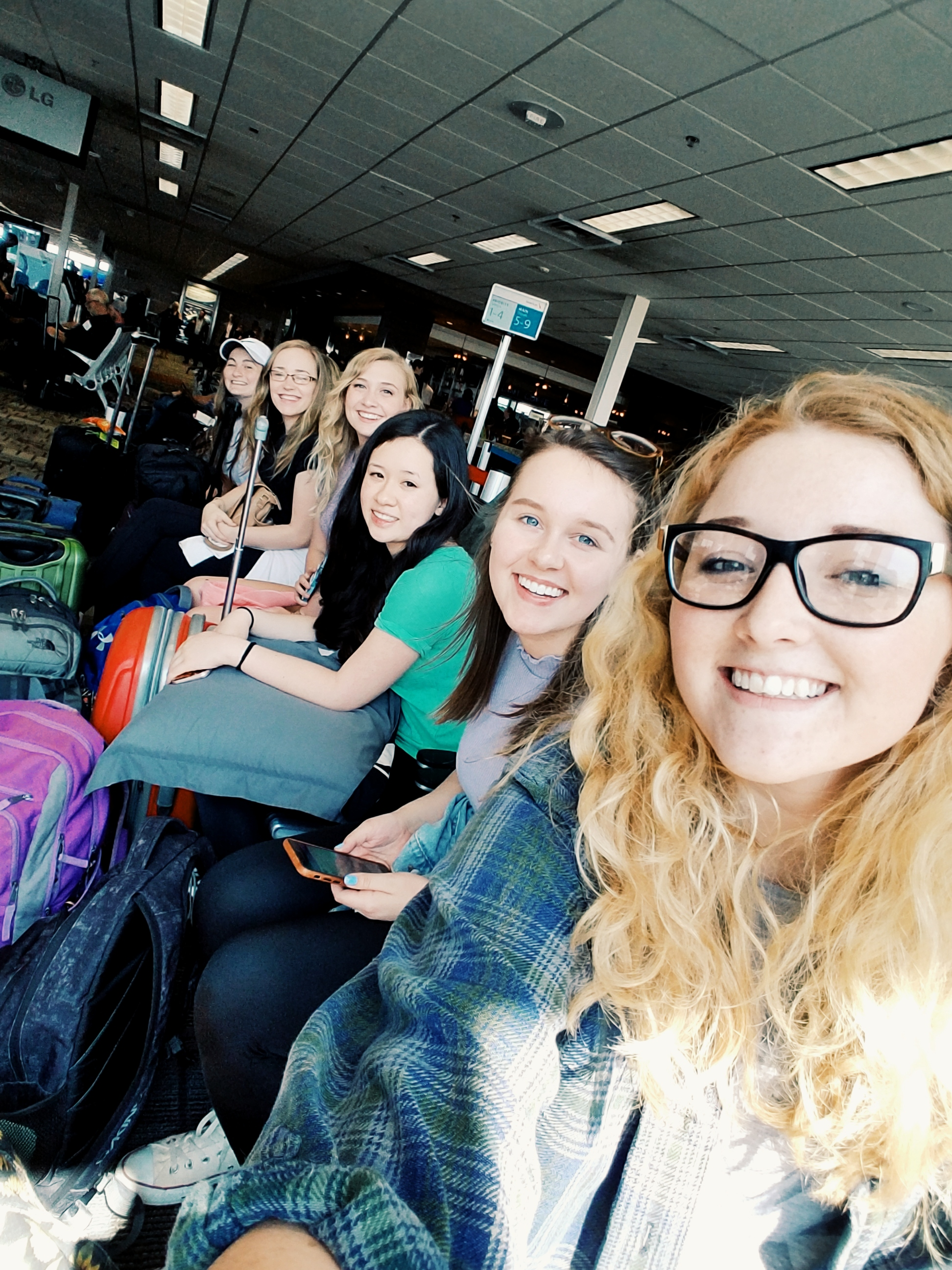 MSP International Airport: T-Minus One Hour 'til Takeoff
