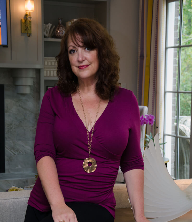 Jennifer Stoner, President and Principal designer of Jennifer Stoner Interiors