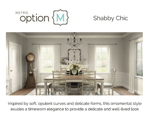 Metrie Option M Shabby Chic
