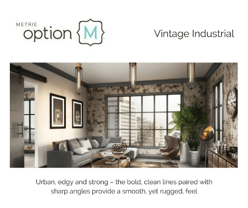 Metrie Option M Vintage Industrial