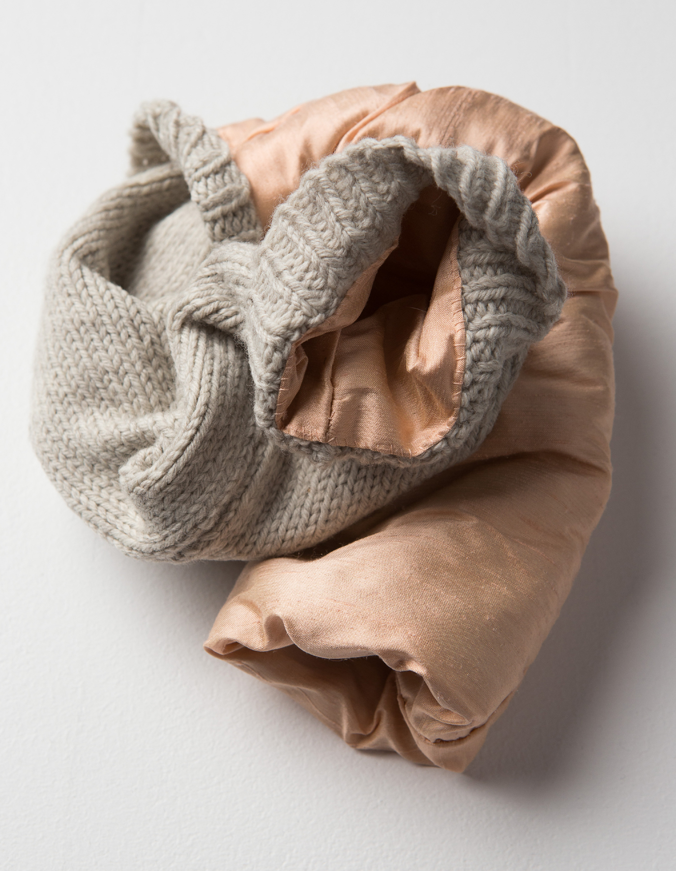 Robyn Finlay,  Untitled  (detail), 2012-13, teabags, 33.5 x 32 x 35 cm. Photograph courtesy the artist.