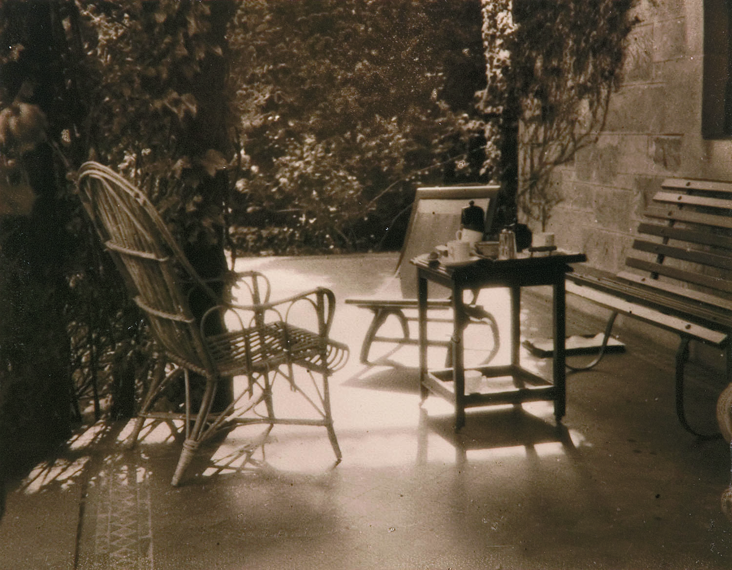 P H Williams, Australia, 1881 ‑ 1934, The guests have departed ,c.1926, Adelaide, toned gelatin‑silver photograph, 15.6 x 20.1 cm (image). Purchased 1926, Art Gallery of South Australia, Adelaide. 2611Ph2