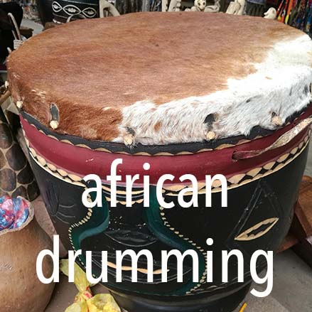 African drumming demonstration