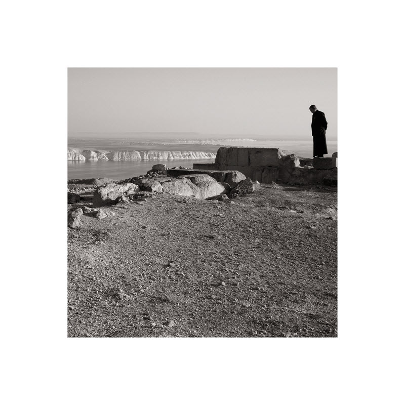 SANDRA ELMS  ARCHAEOLOGICAL SITE, EUPHRATES,  2014, edition of 5 + AP, archival inks on Hahnemühle FineArt 308gsm Photo Rag paper, 60 x 60cm image on 90 x 90cm paper.