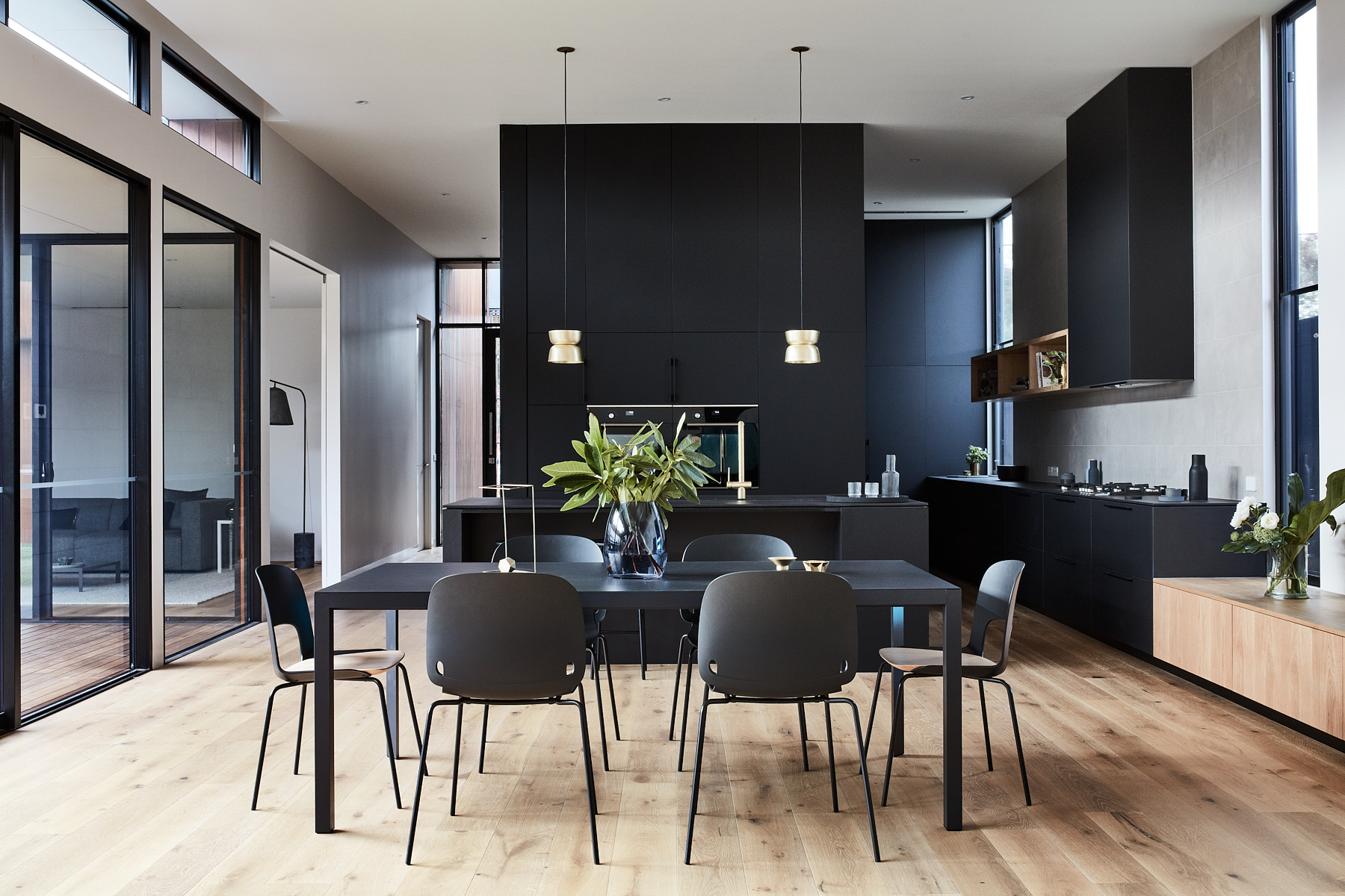 Details  °Sofflo Dining Table + Intro Dining Chairs  @piancadesign