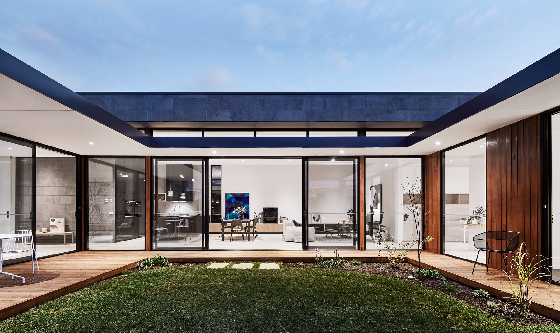 Courtyard House Luxury Homes Melbourne Lifespaces Group Luxury Homes