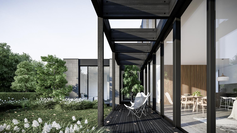 Bluestone House by Auhaus For Life Spaces Group Side Verandah.jpg