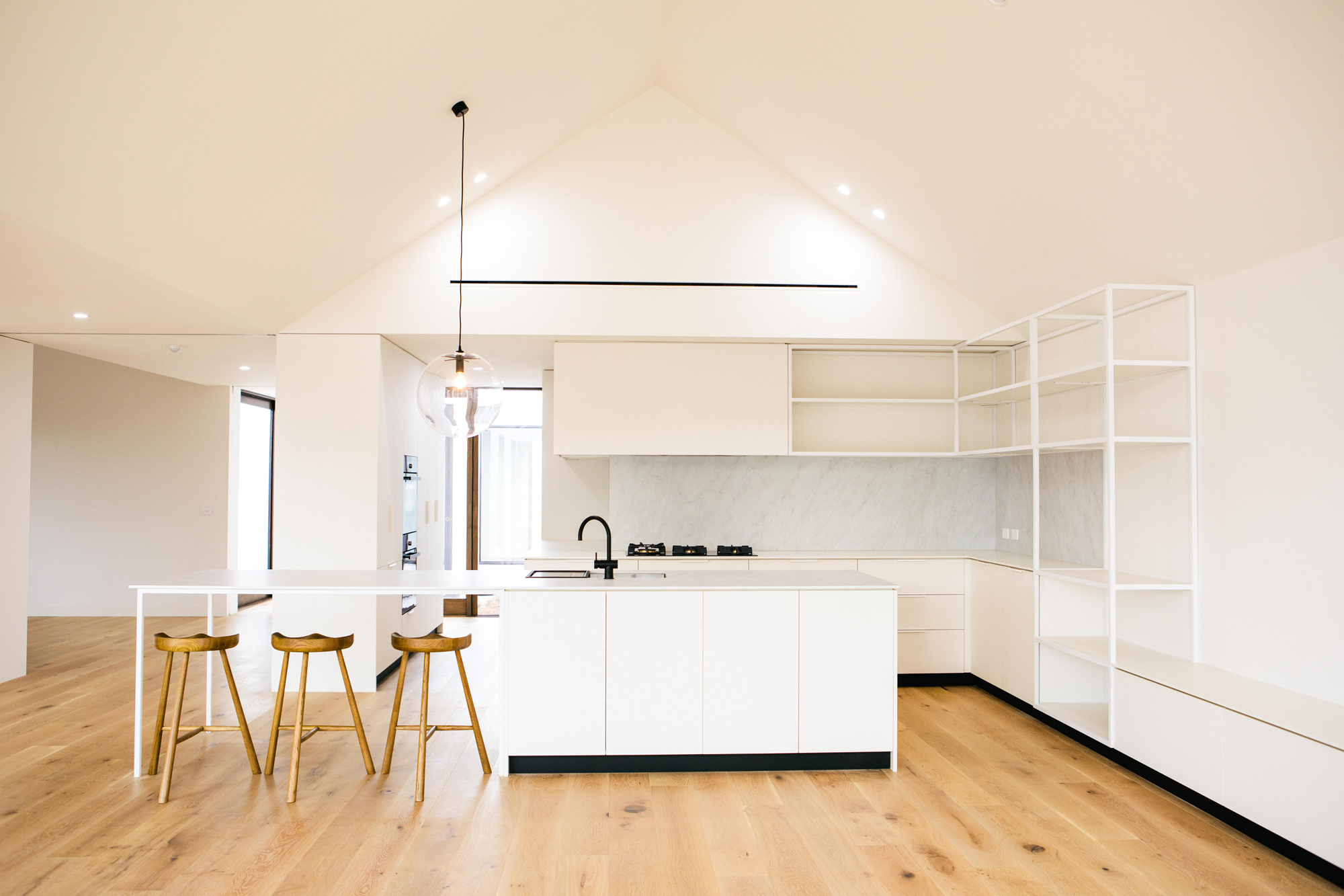The first completed Scandi House