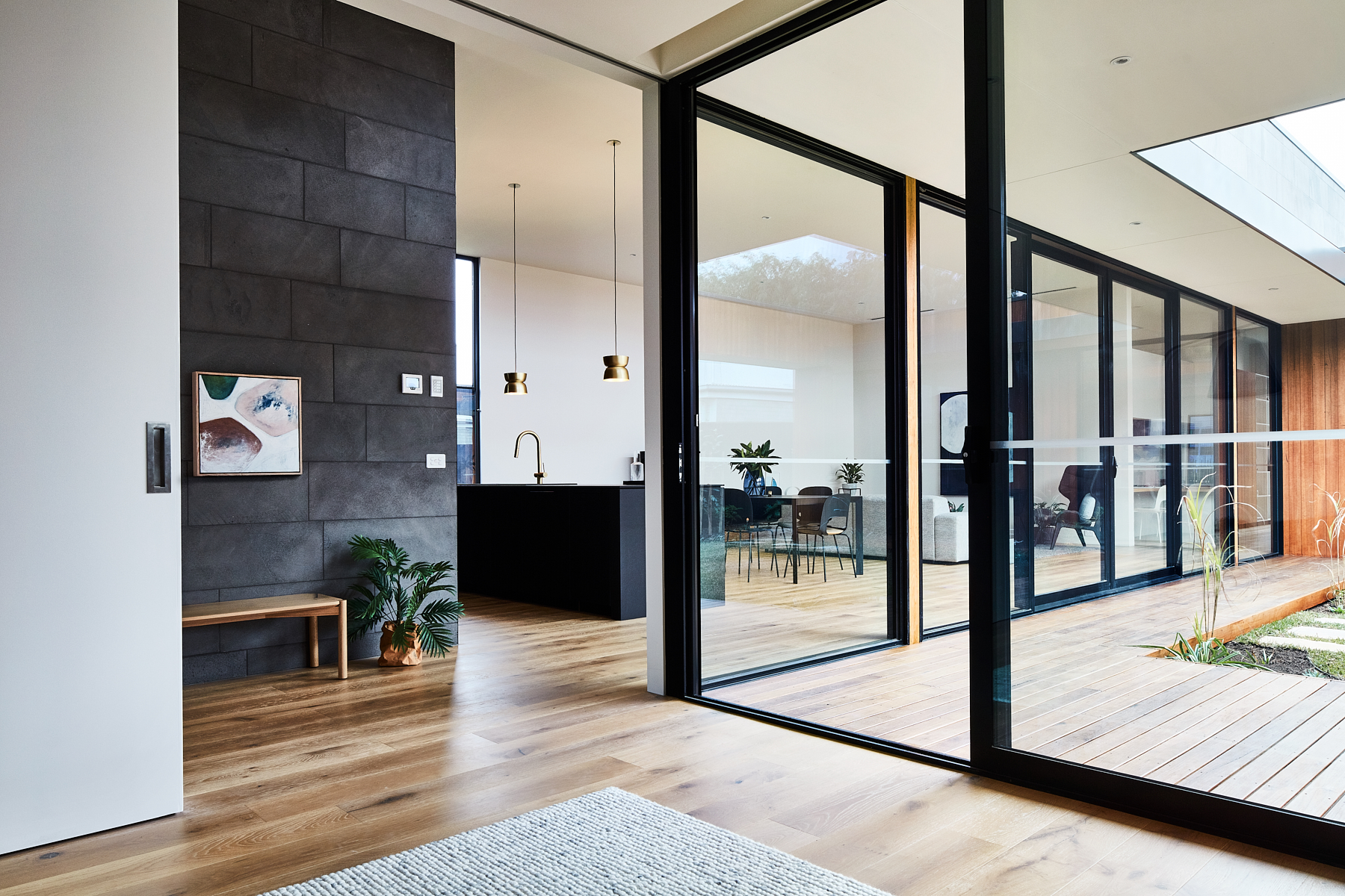 Lifespaces Courtyard House