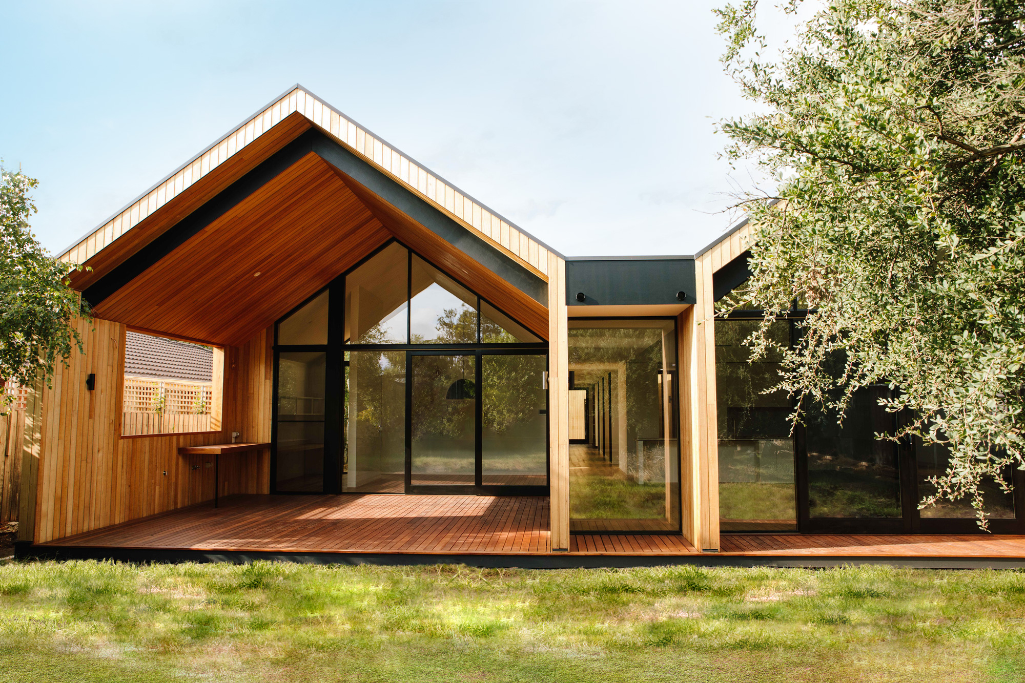 The Scandi House - rear perspective