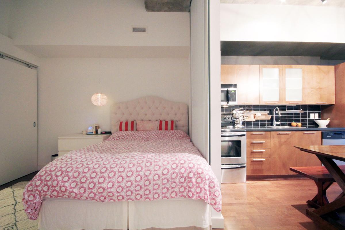 33 Mill Street 504 - 09 - Bedroom and Kitchen.jpg
