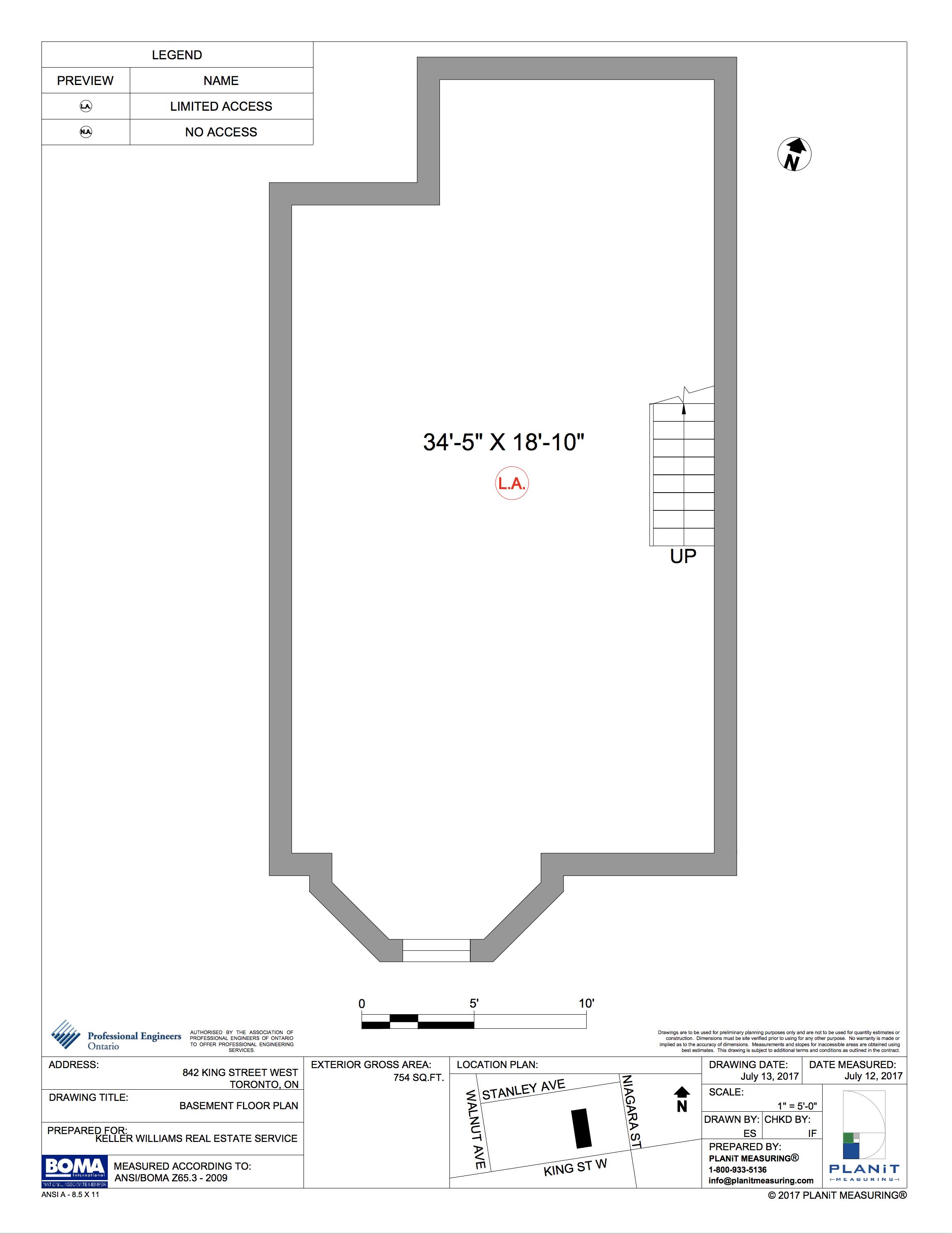 Basement (754 sq ft)
