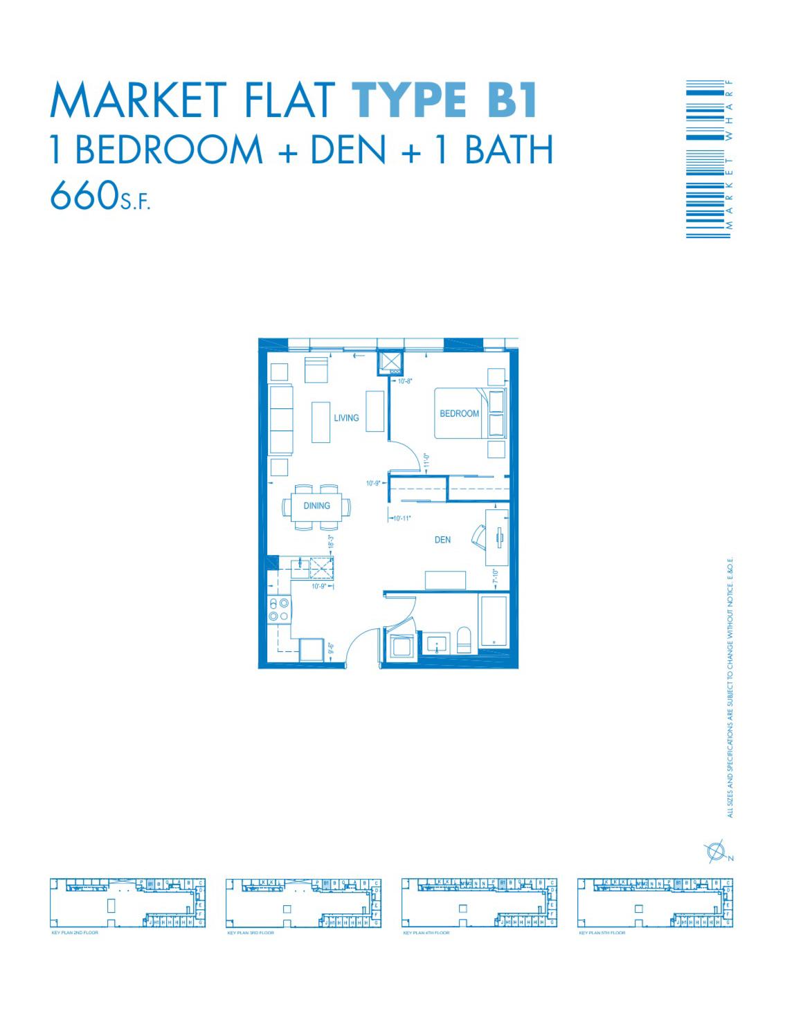 3 Market Street #502 - Floor Plan