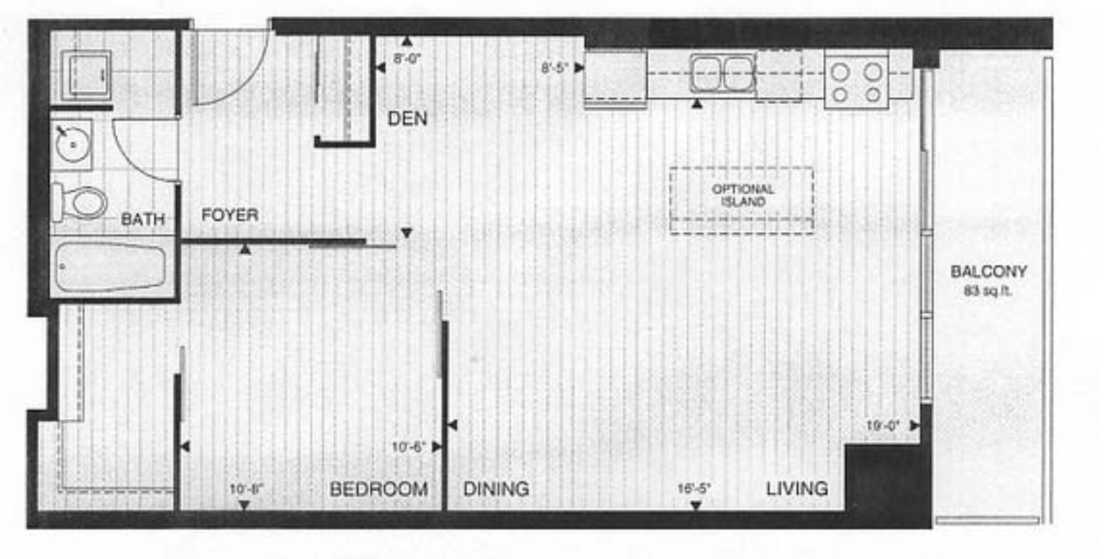 205 Frederick Street 1009 - Floor Plan Image.png