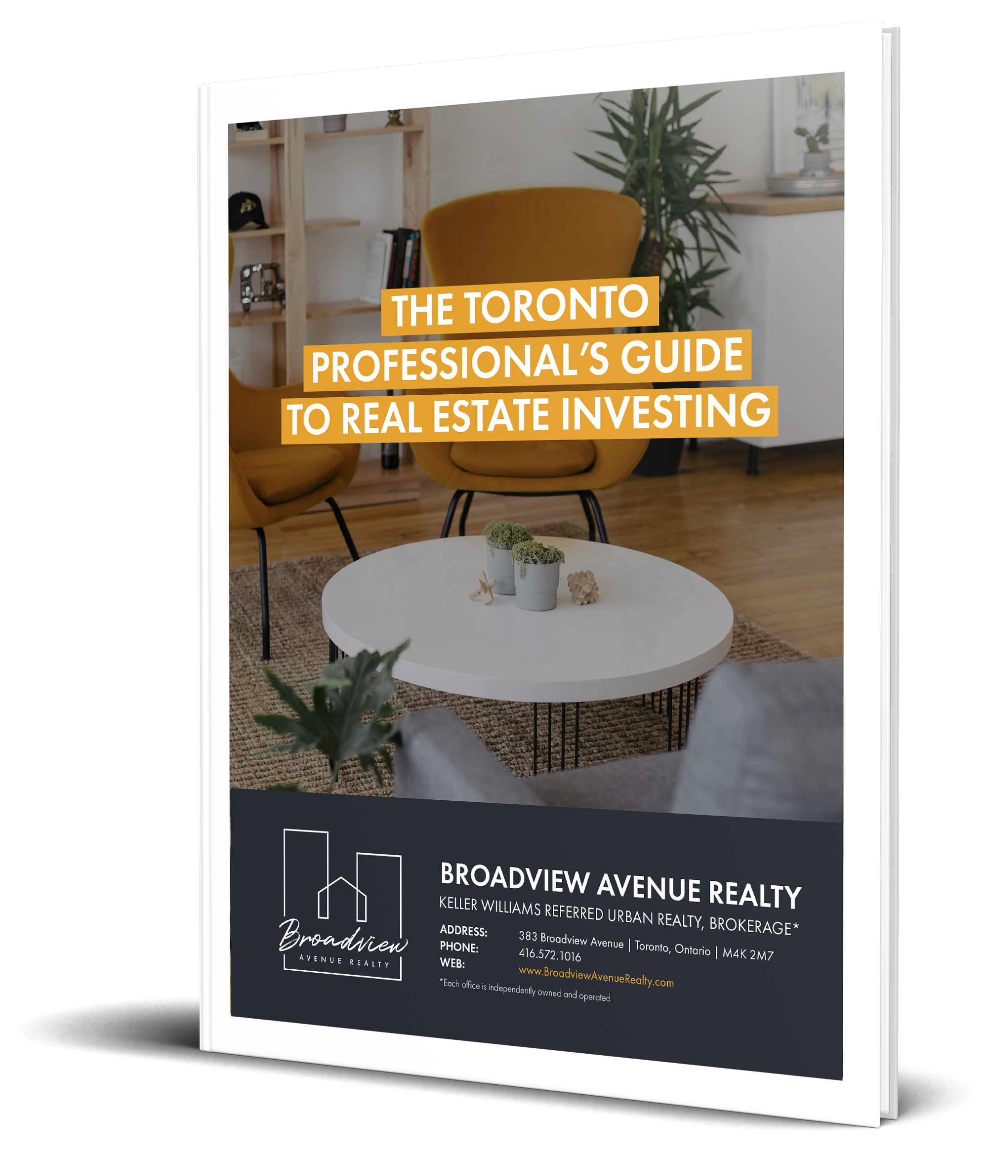 The Toronto Professional's Guide to Real Estate Investing - MockUp - Transparent.png
