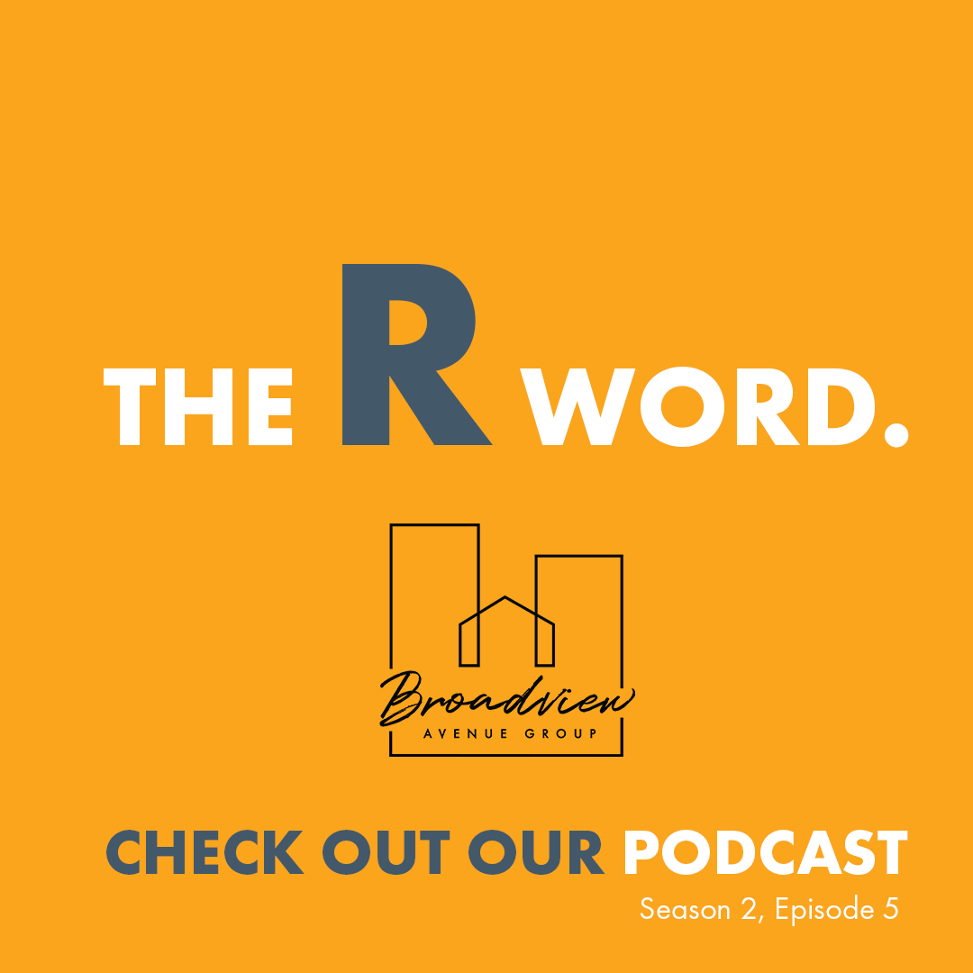 Episode 5 - The R word - Cover