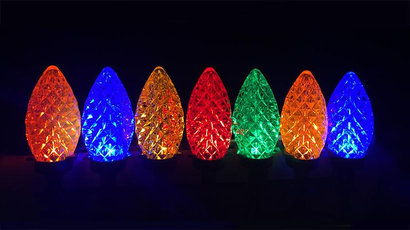 C-9 Multicolour Bulbs