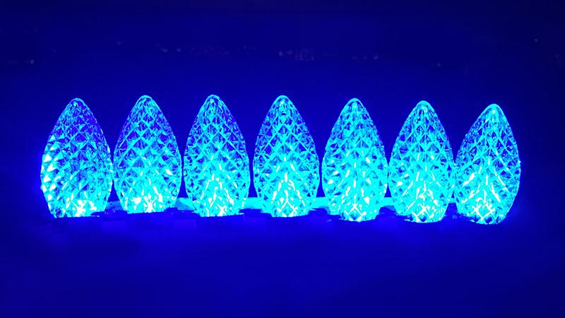 C-9 Blue Bulbs