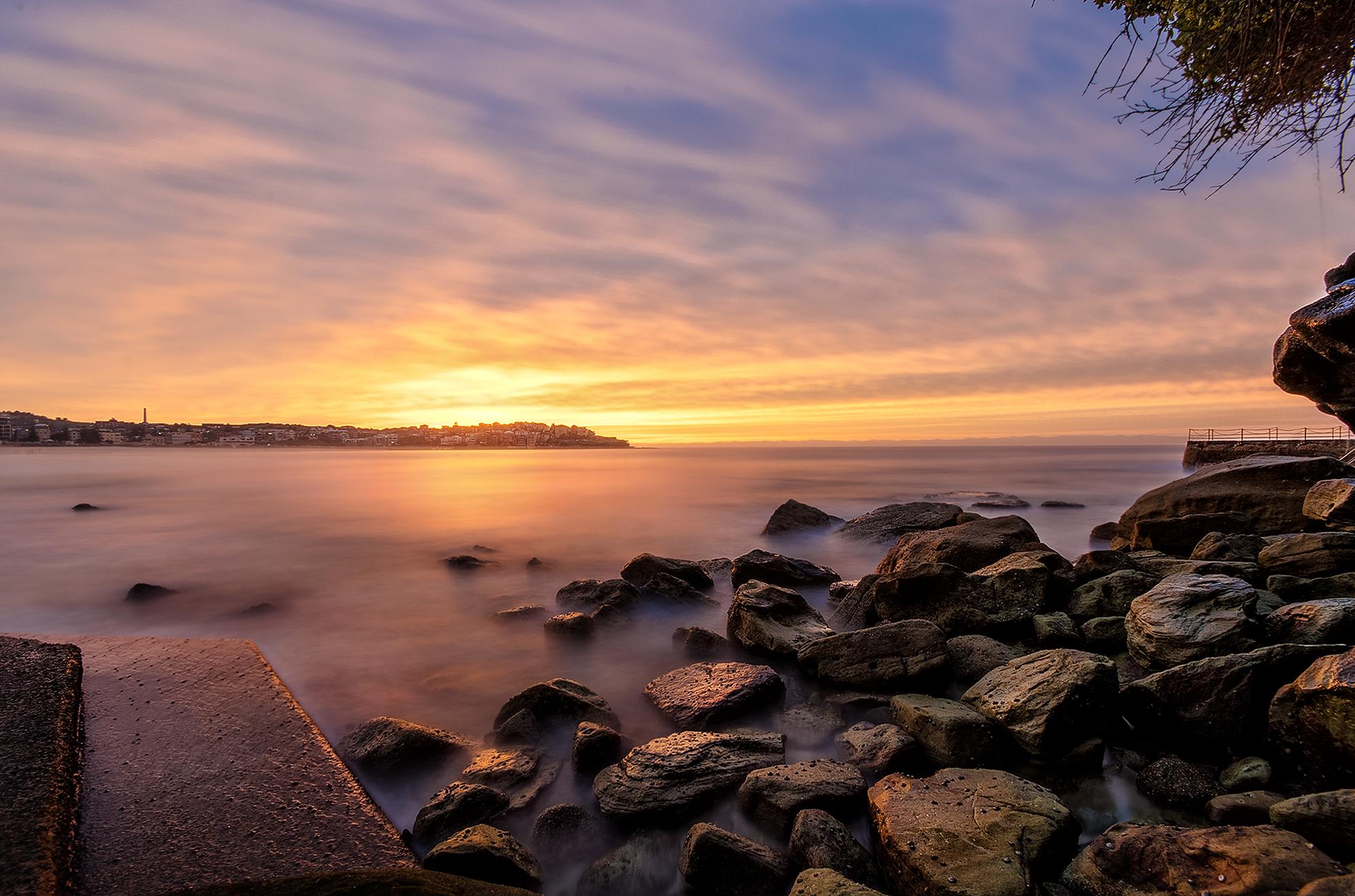 Sunrise at Bondi Beach, NSW