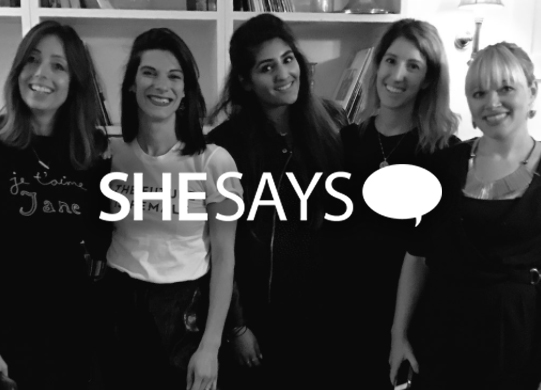 SHESAYS x SOHO HOUSE  EVENT/FEATURE  Leyya co-hosted an event with Casey Bird for the SheSays event series with Soho House. We spoke about redesigning business with Emma Sexton, Ernestina Potts and Pippa Bhatt.