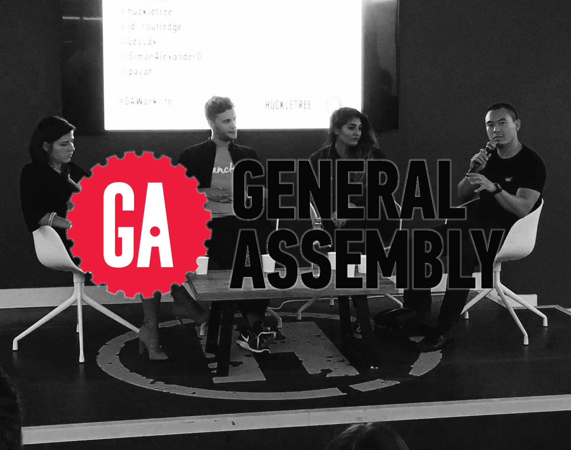 GENERAL ASSEMBLY -  EVENT  We spoke on a General Assembly panel around Work/Life balance alongside: James Routledge - Founder of Sanctus, Simon Alexander Ong - Life Coach & Business strategist and hosted by Paulina Sygulska Tenner - Founder of GrantTree.