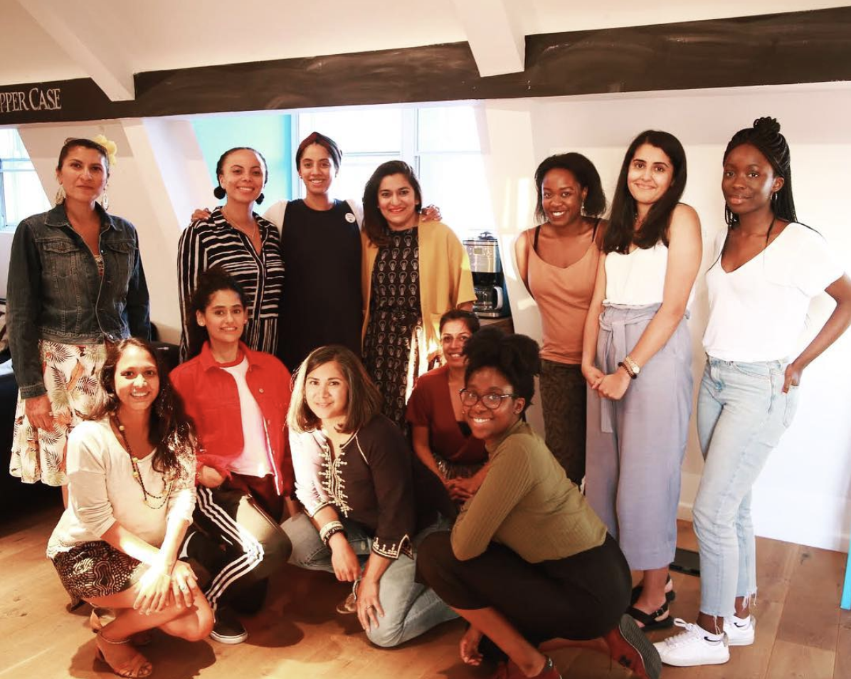 Women of colour copywriting  WORKSHOP  We recently held a women of colour copywriting workshop at Roshni's first agency where for 3 years she was the only woman of colour creative in the room. So to fill that room with 12 other awesome creative wonderwomen, lead them through writing exercises and share stories of being a WOC in the creative industries amazing.