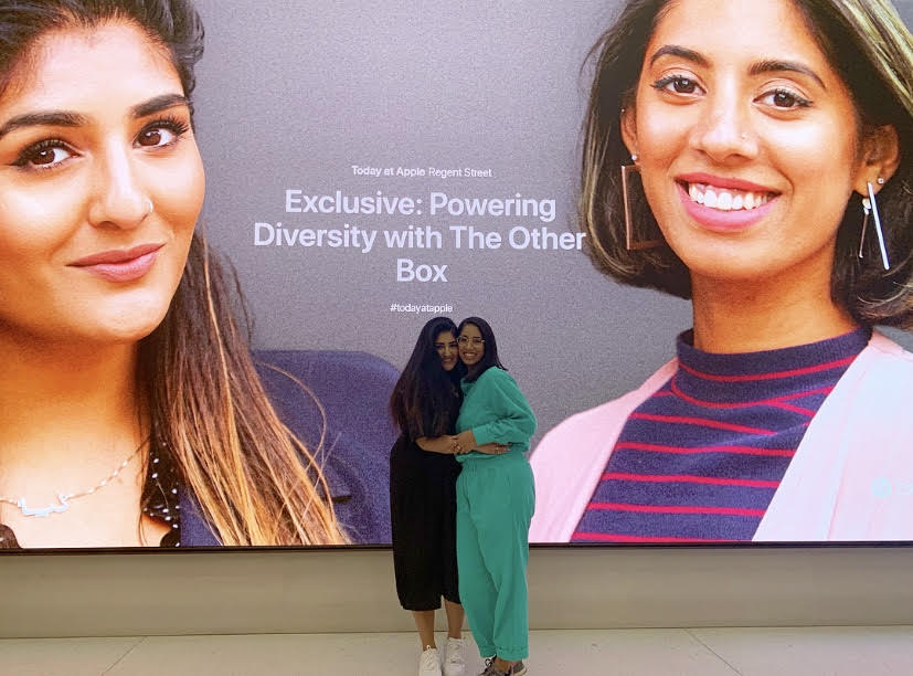 APPLE STORE  EVENT  We did a takeover of  Apple   #TodayAtApple  for International Women's Day! Was truly a magical evening celebrating everybody's achievements and sharing our story.