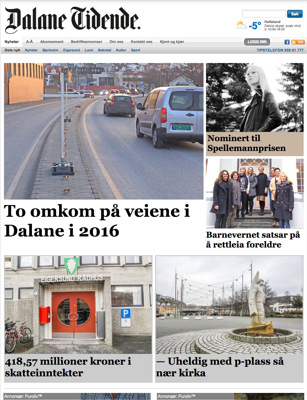 Dalane Tidende