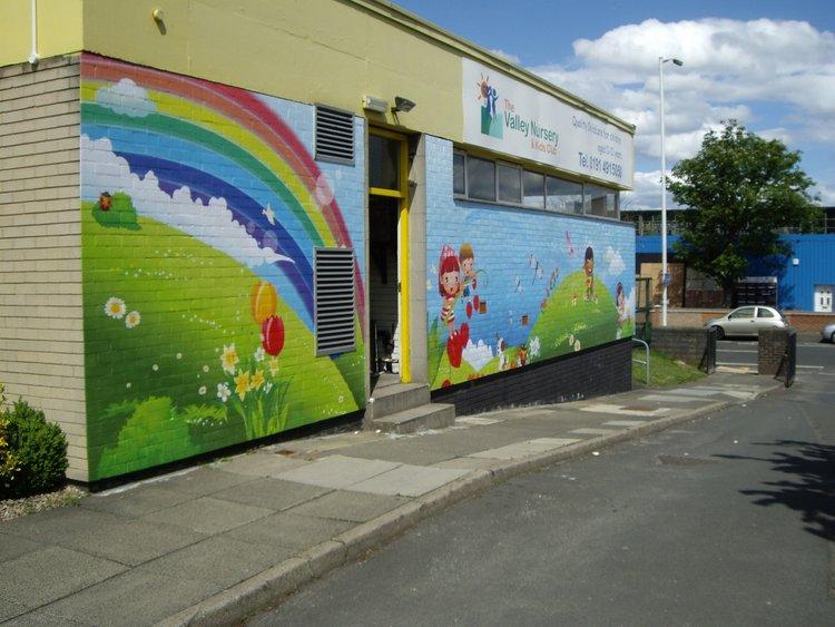 Valley Nursery exterior wall wrap