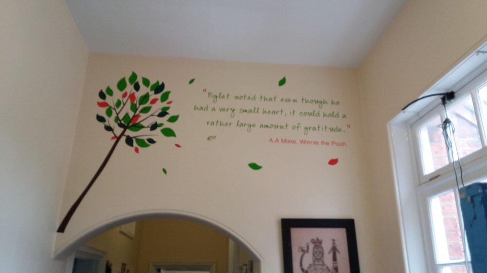 Newington Academy wall wrap
