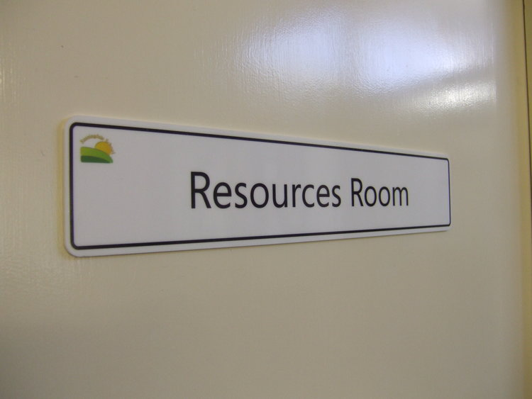 Internal Dibond Door Signs