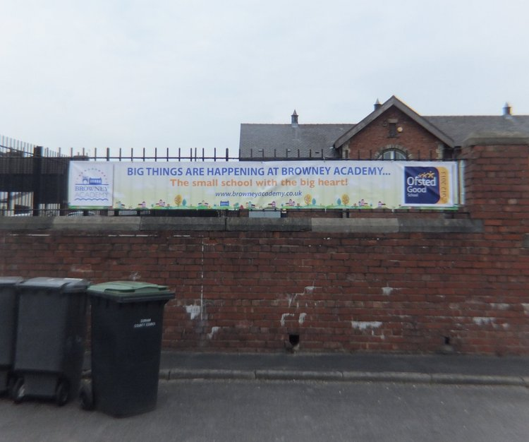 Browney Academy Ofsted Banner