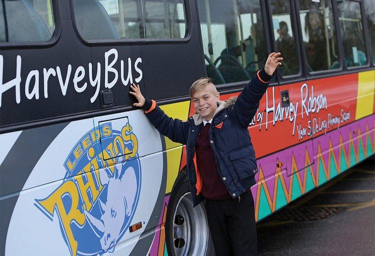 Arriva Leeds Full Bus Wrap