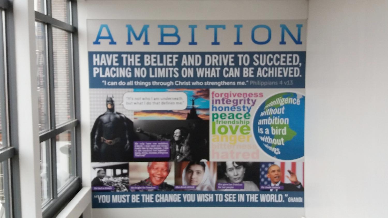 Ambition wall wrap