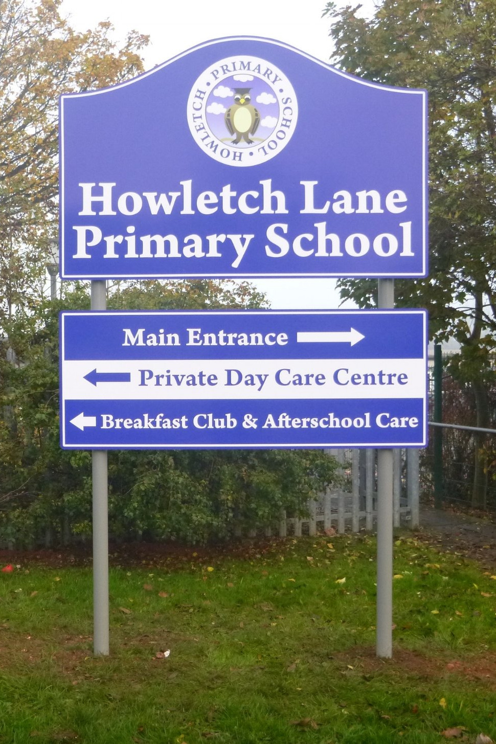 Howletch Primary Post Sign