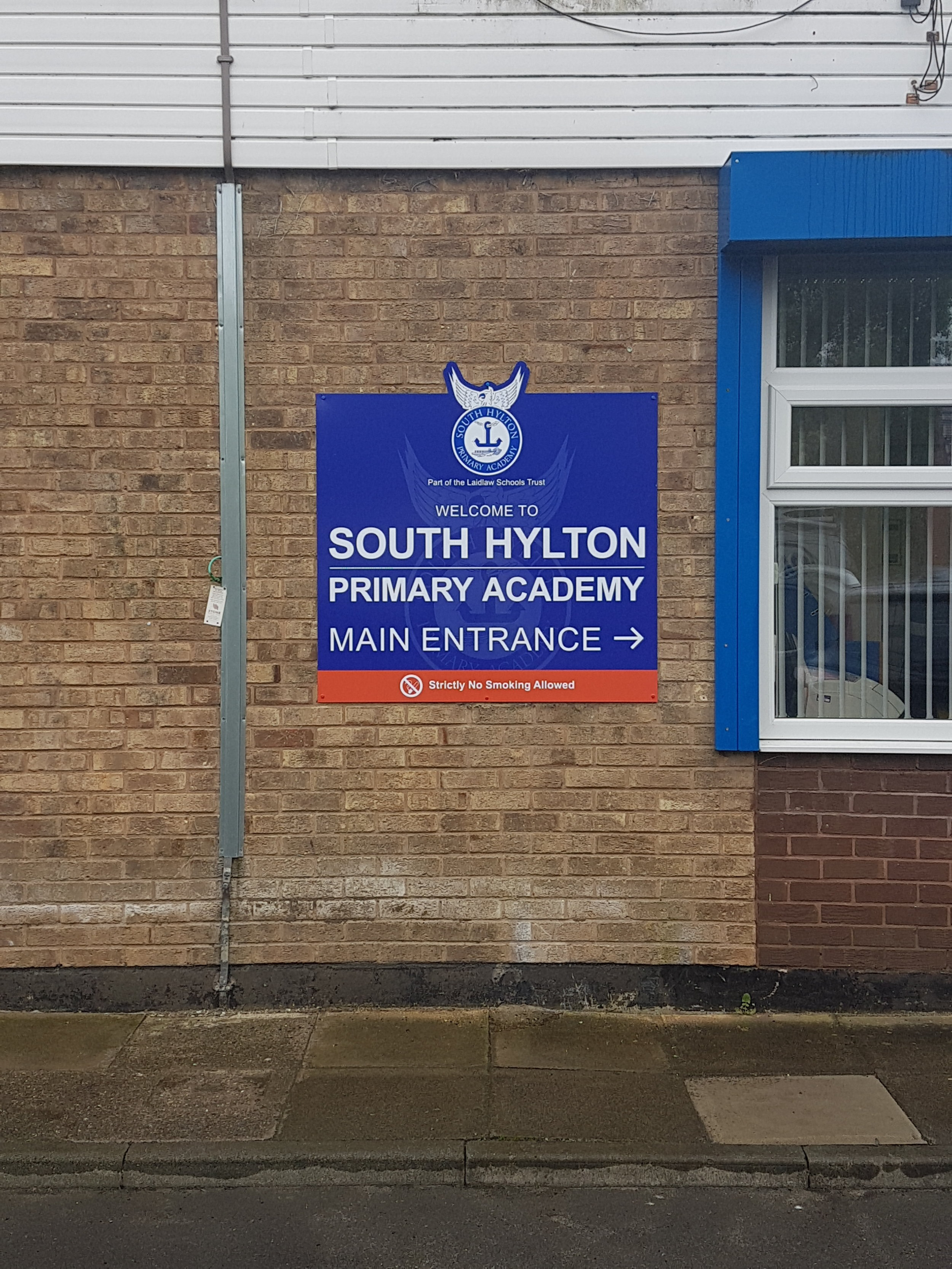 South Hylton Wall Mounted Dibond Sign